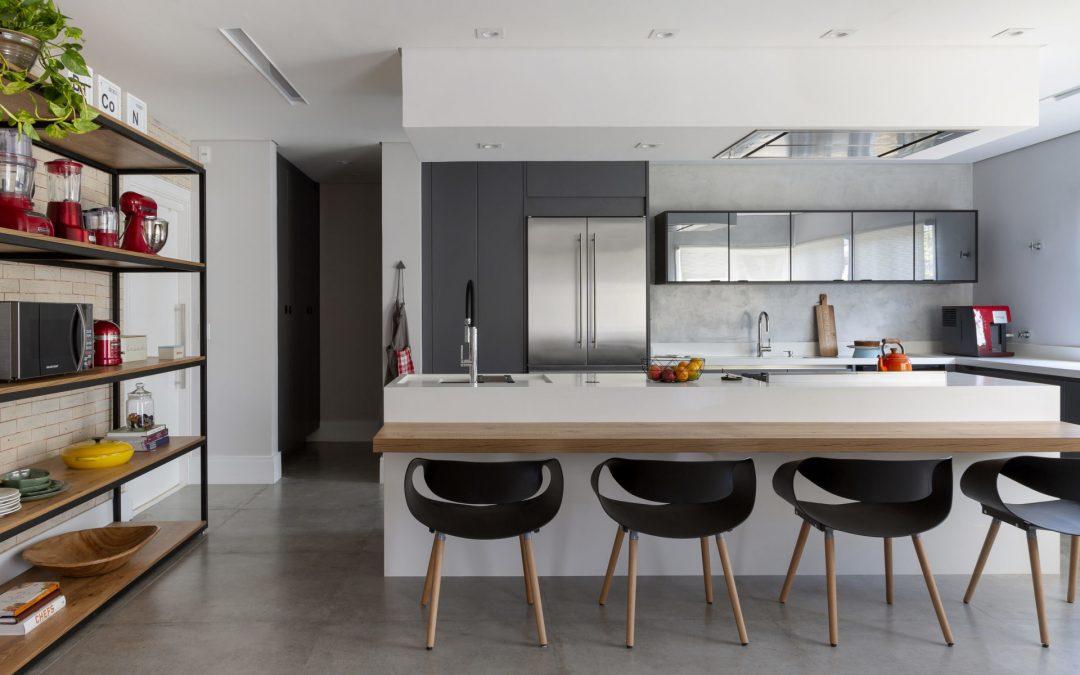 Cozinha Integrada e Moderna