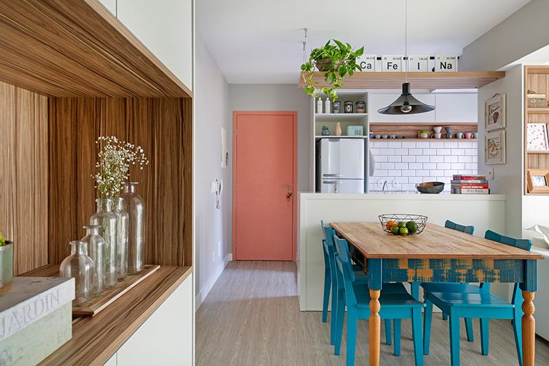 Projeto para apartamentos compactos