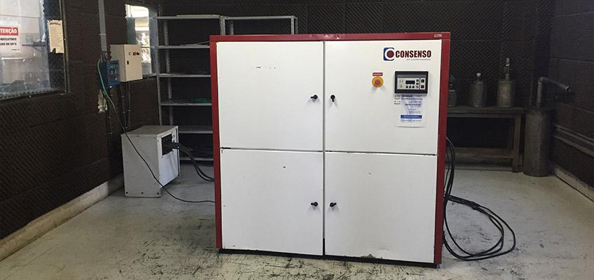 Sala de Testes - Consenso Compressores